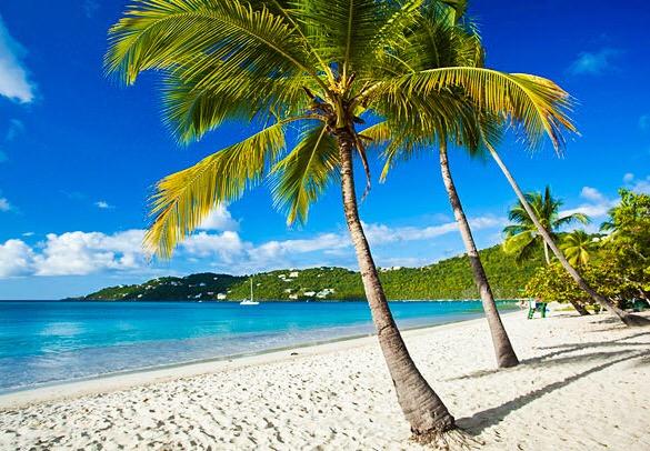 st thomas beach